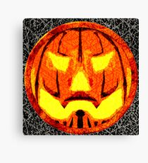 Jack O Lantern revisit Canvas Print
