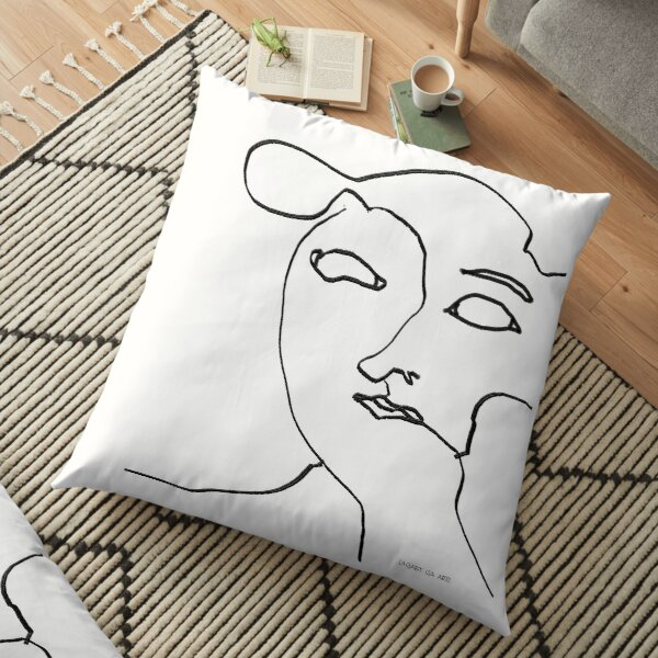Only Lines Floor Pillow