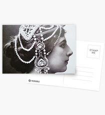 Mata Hari Advertisment Postcards
