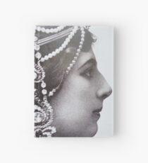 Mata Hari Advertisment Hardcover Journal