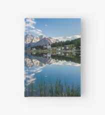 Mirror Lake - Italian Dolomites Hardcover Journal