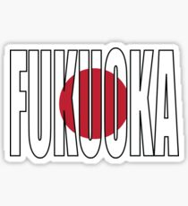 Fukuoka. Sticker