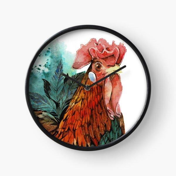 Good Lookin' Rooster (Wim) Clock