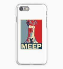 Beaker Meep Poster iPhone Case/Skin
