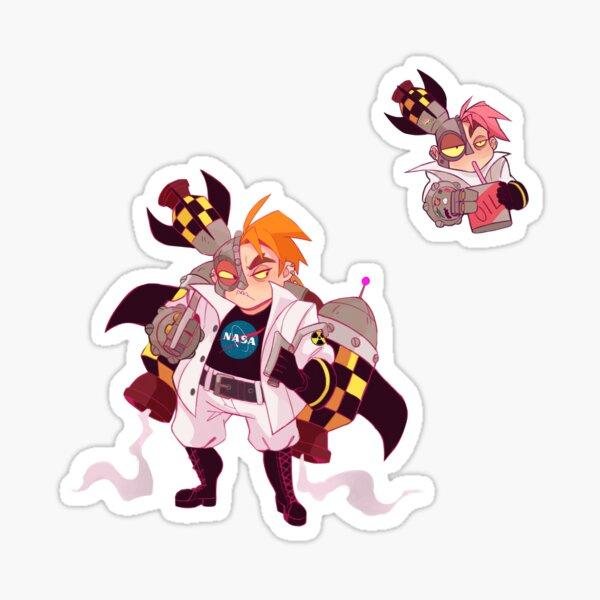 Rocket Man Set Sticker