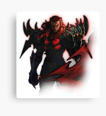Dragon armour Canvas Print