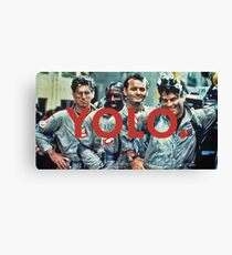 YOLO Ghostbusters Canvas Print