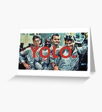 YOLO Ghostbusters Greeting Card