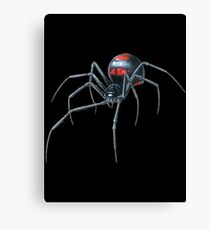 Black Widow Spider Cool Canvas Print