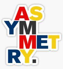 ASYMMETRY Sticker