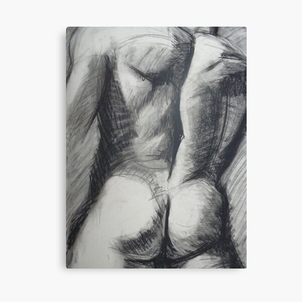 Heracles - Male Nude Canvas Print