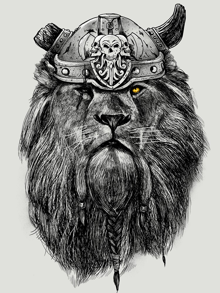 The eye of the lion vi/king | Unisex T-Shirt