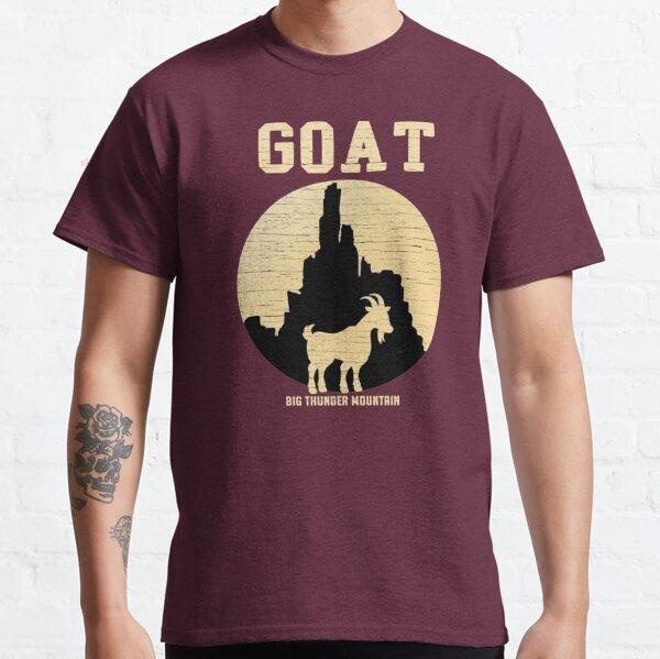 Gran Cabra de la Montaña del Trueno Camiseta clásica