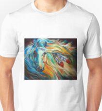 BREAKING DAWN EQUINE by MARCIA BALDWIN Unisex T-Shirt