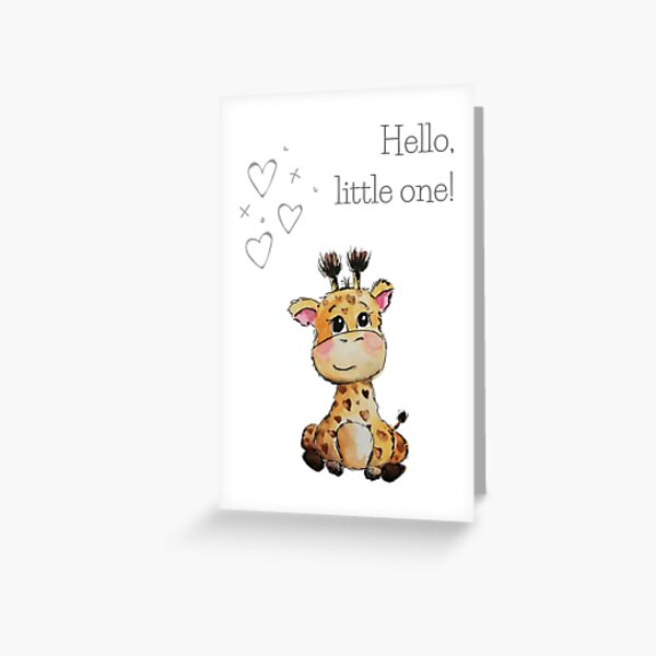 Hello little one! Greeting Card