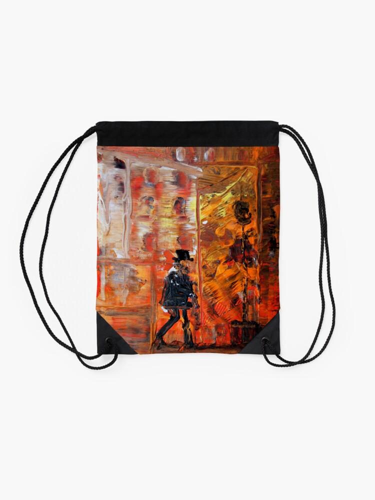 Alternate view of Remember Drawstring Bag