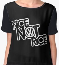 Nice Not Rice - VW Women's Chiffon Top