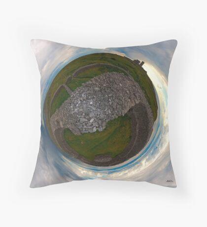 Dun Eochla, Inishmore, Aran Islands Throw Pillow
