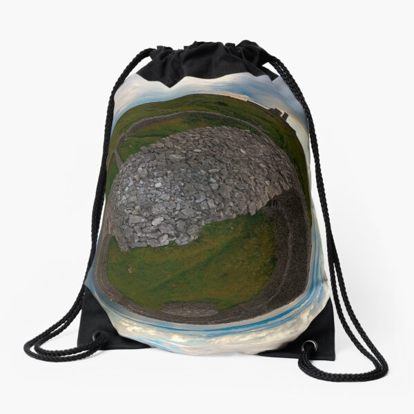 Dun Eochla, Inishmore, Aran Islands Drawstring Bag