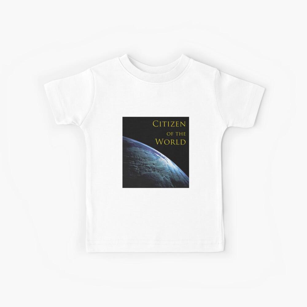 Citizen of the World Kids T-Shirt