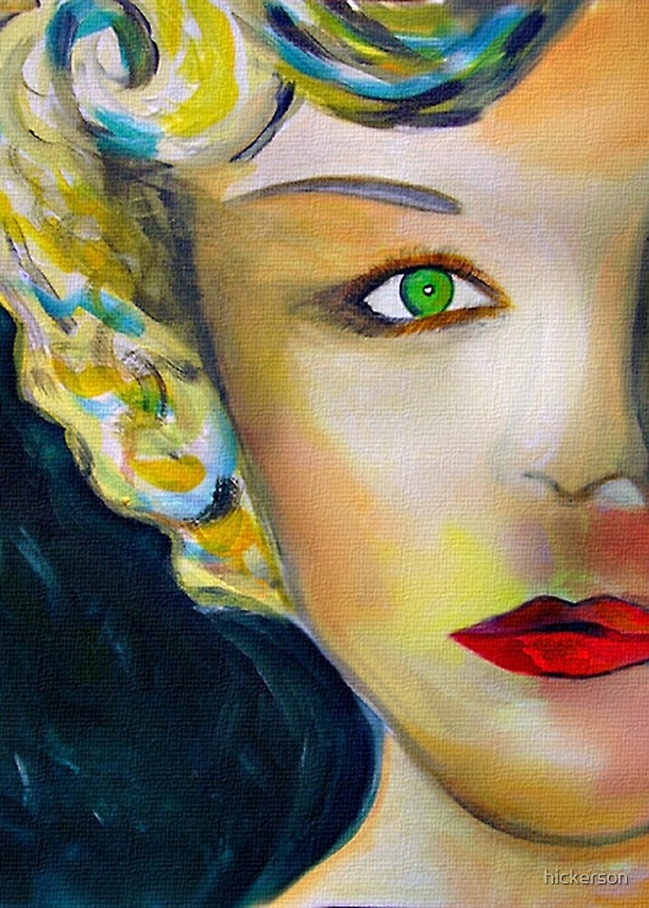 Cardboard Nancy Monroe by hickerson