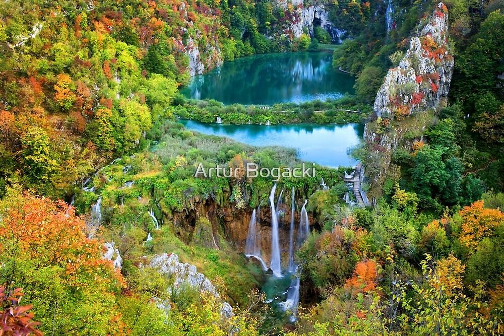 Plitvice Lakes National Park in Croatia by Artur Bogacki