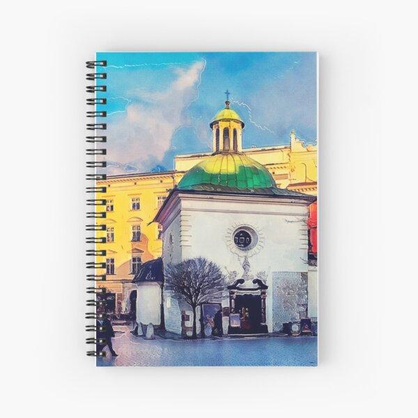 Cracow Church of St. Wojciech Spiral Notebook