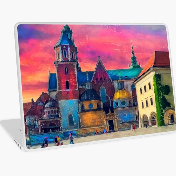 Cracow Wawel art Laptop Skin