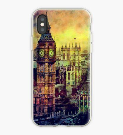 London BigBen Watercolor iPhone Case