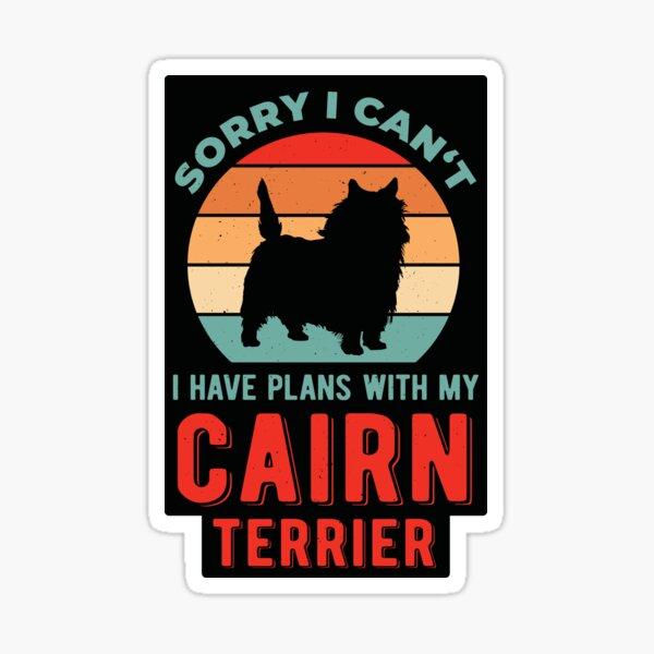 Funny Cairn Terrier Sticker