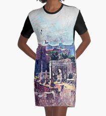Rome Graphic T-Shirt Dress