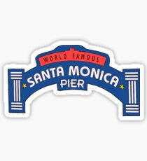 Santa Monica Pier Sticker
