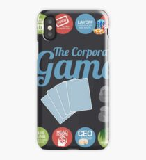 Corporate Game with humorous milestones. iPhone Case/Skin