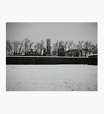 snowy walls, 2009 Lucca 1 Photographic Print