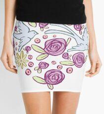 Swallow Song Mini Skirt