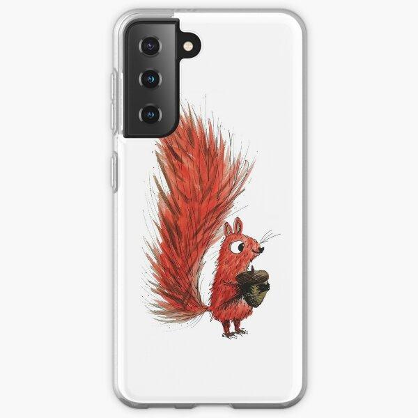 Red squirrel Samsung Galaxy Soft Case