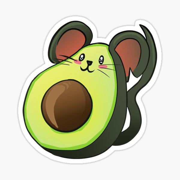 Mousecado Sticker