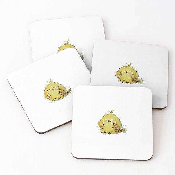 Hello chick! Coasters (Set of 4)