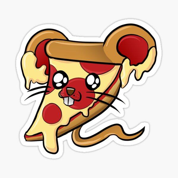 Pizza Mouse!  Sticker