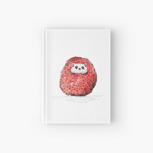 Happy hedgehog Hardcover Journal
