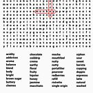 Coffee word puzzle by fridley