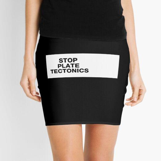 Copy of SALE - Stop plate tectonics Mini Skirt
