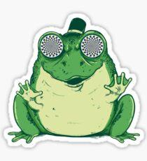 Hipnogenic Toad  Sticker