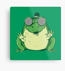 Hipnogenic Toad  Metal Print