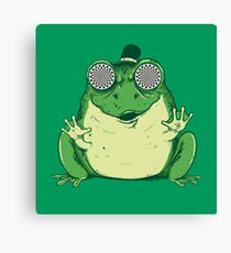 Hipnogenic Toad  Canvas Print