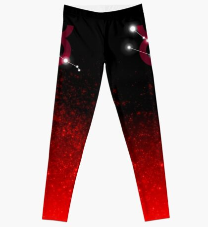 Taurus - Red Leggings