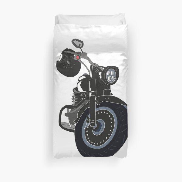 t-shirt moto harley davidson Housse de couette