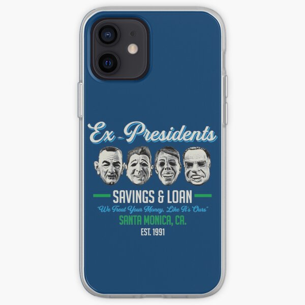 Ex Presidents Savings & Loans iPhone Soft Case
