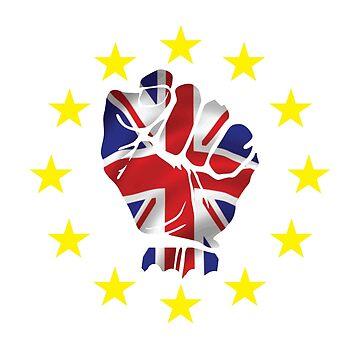 No me culpes, yo voté permanecer. Camiseta BREXIT UKIP de lolotees