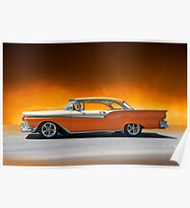 1957 Ford Fairlane 500 Poster